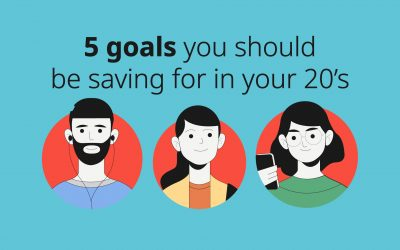 Building wealth: 5 goals you should be saving for in your 20's
