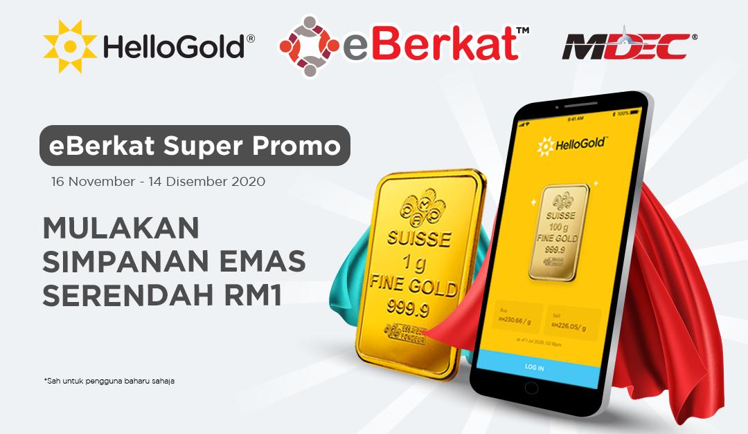 HelloGold x eBerkat Super Promo