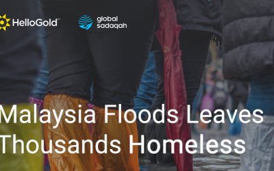 Donate Gold: Malaysia Floods Leaves Thousands Homeless