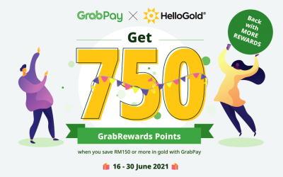 HelloGold x GrabPay 750 Promotion 2.0