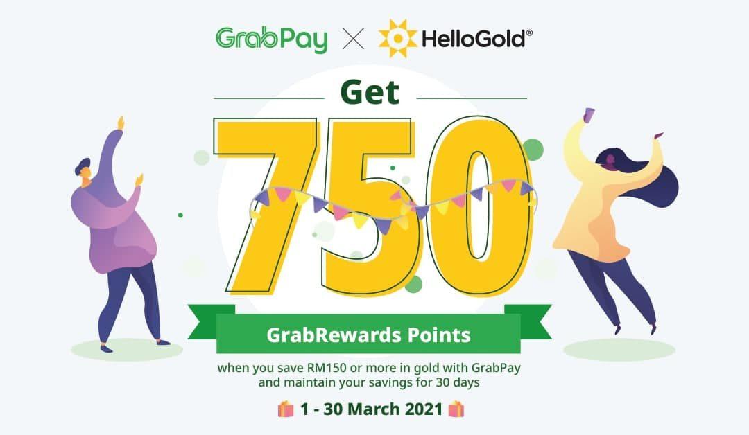 HelloGold x GrabPay 750 Promotion