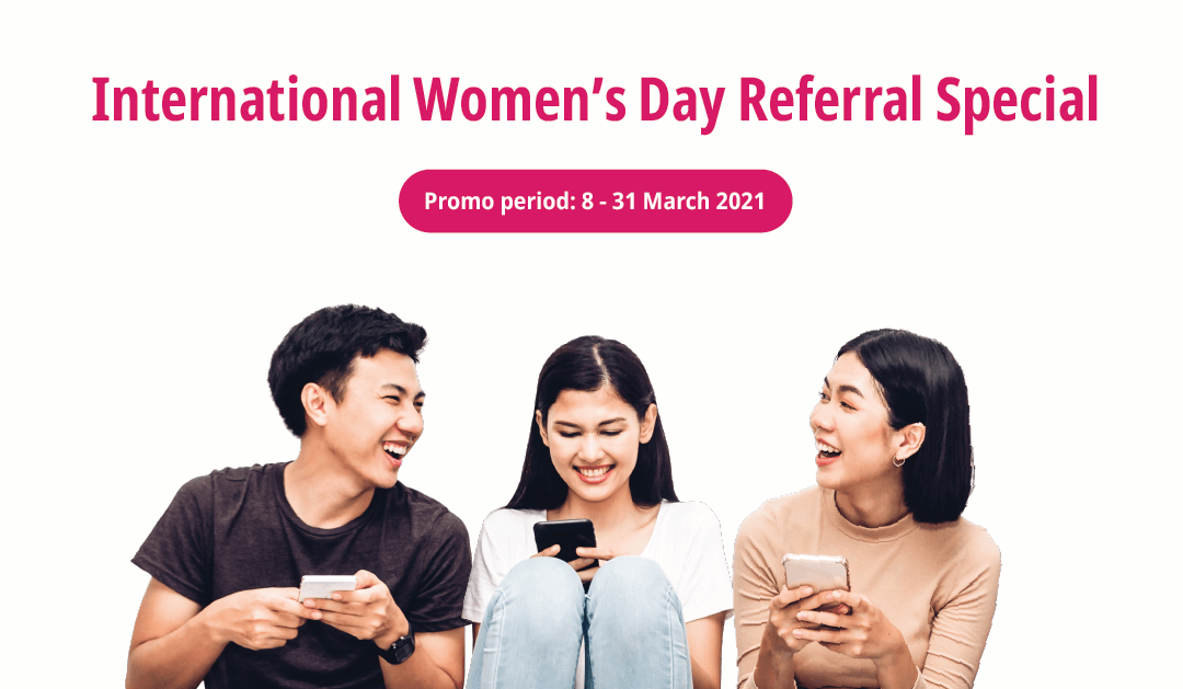 International Women's Day Referral Special