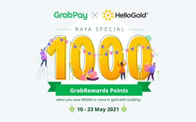 HelloGold x GrabPay Raya Special Promotion