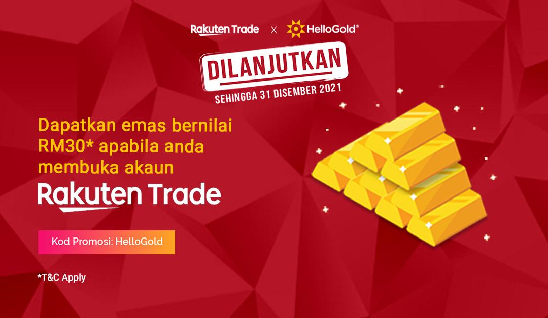 Bagaimana untuk melabur saham di Bursa dengan Rakuten Trade?