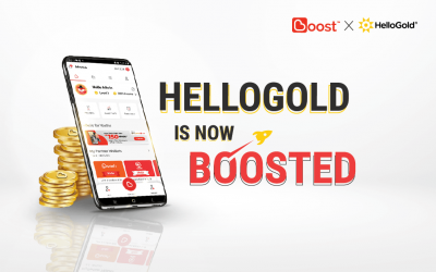 HelloGold Is Now In The Boost App