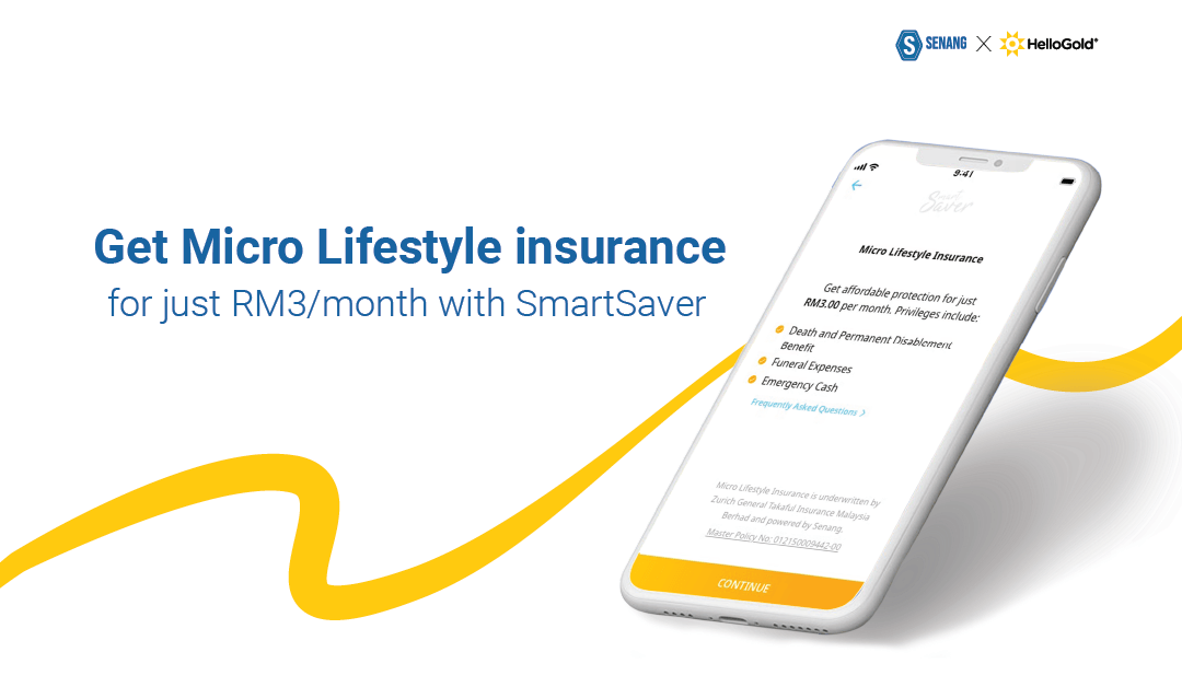 Micro Lifestyle Insurance now with your gold savings!