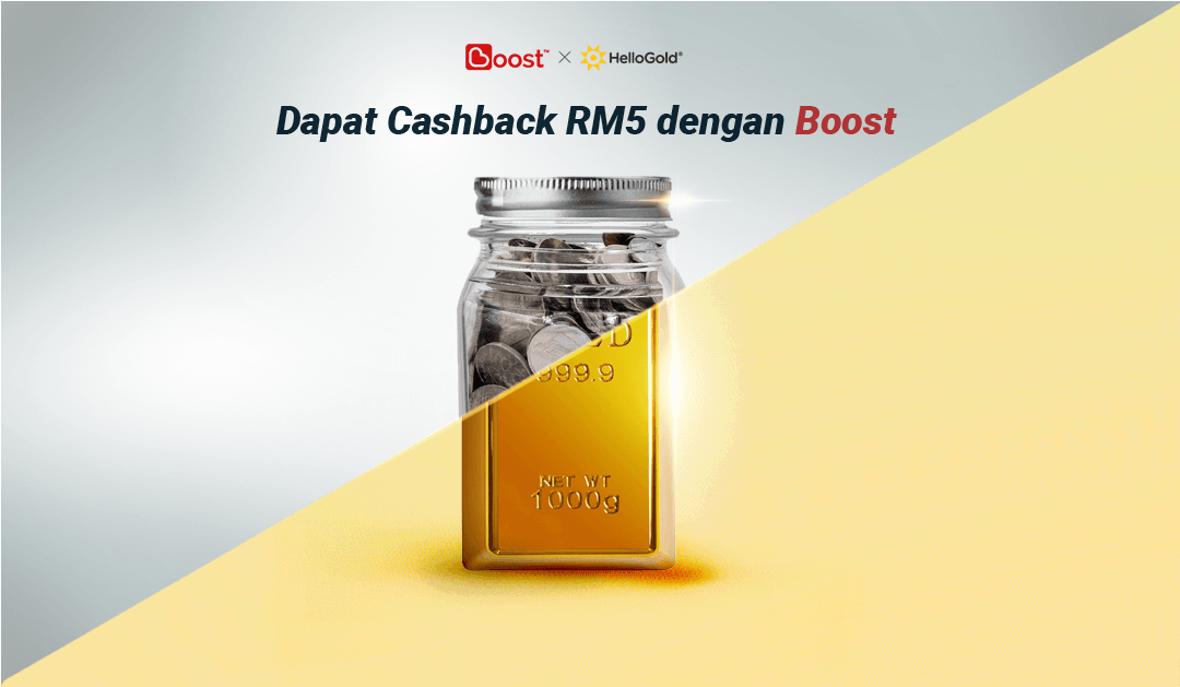 RM5 Cashback dengan Boost