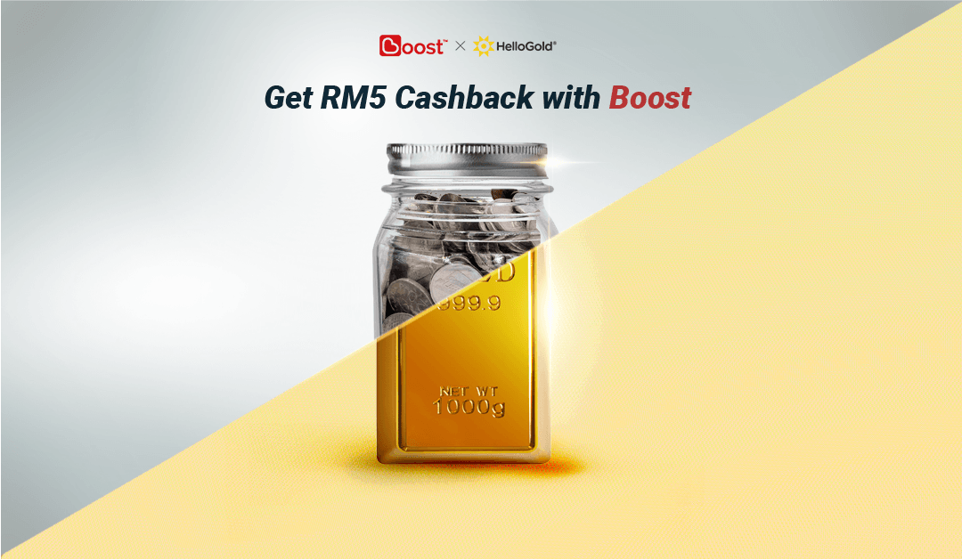 RM5 Cashback when you save on Boost