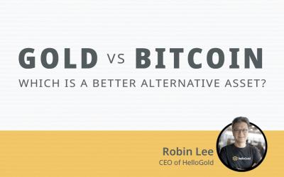 Gold versus Bitcoin: Which is a better alternative asset?